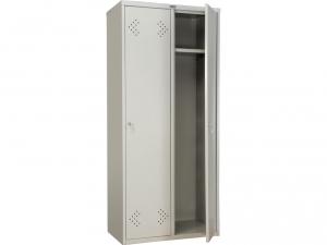 Шкаф металлический для одежды ПРАКТИК LS(LE)-21-80 купить на выгодных условиях в Сургуте