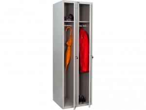 Шкаф металлический для одежды ПРАКТИК LS(LE)-21 купить на выгодных условиях в Сургуте