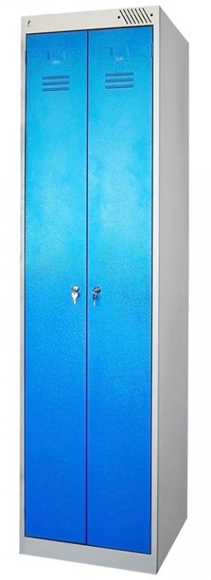 Шкаф металлический для одежды ШРЭК-22-500 купить на выгодных условиях в Сургуте