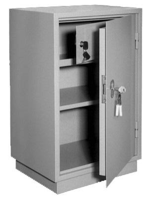 Шкаф металлический бухгалтерский КБ - 012т / КБС - 012т