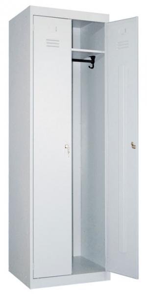 Шкаф металлический для одежды ШР-22-600 купить на выгодных условиях в Сургуте